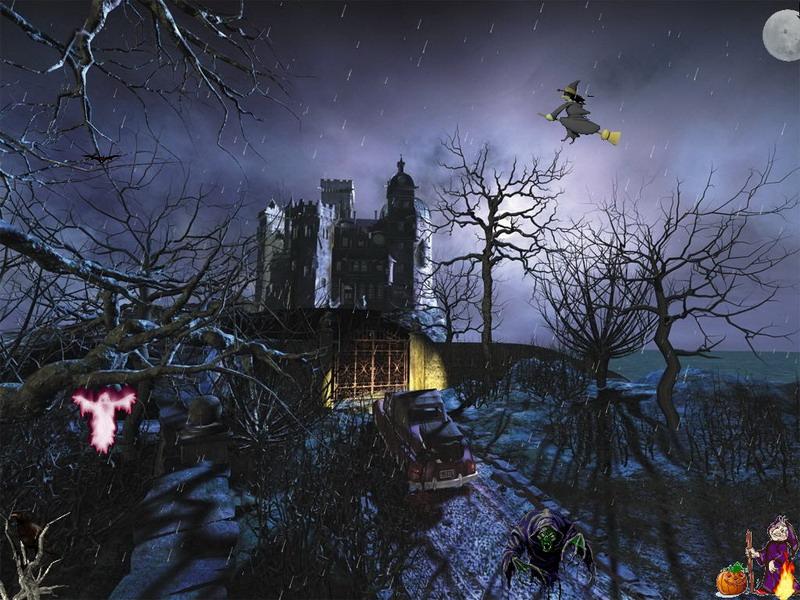 Horror Of The Night Screensaver For Windows Free Holiday Screensaver