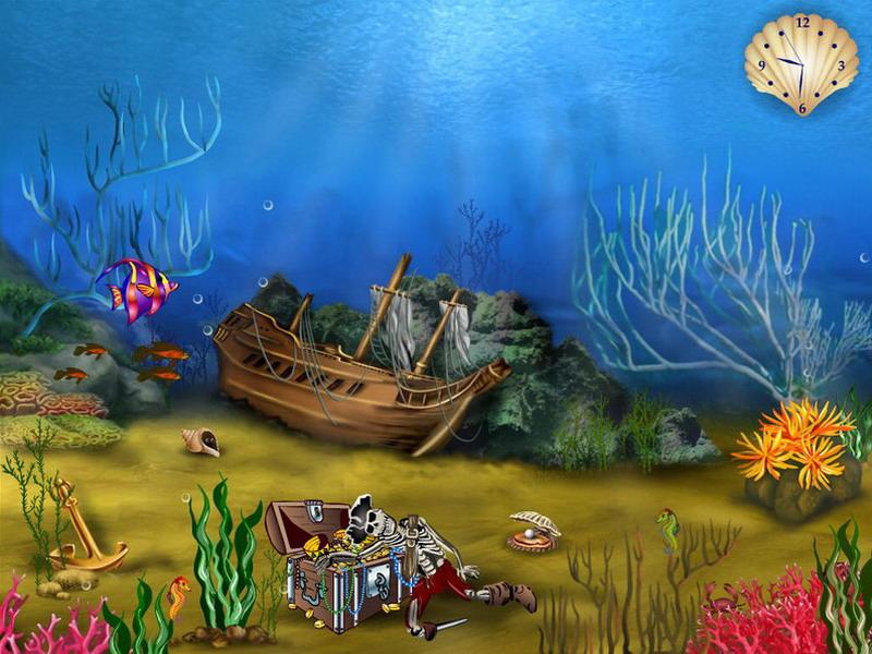 pirates treasures free pirates screensaver fullscreensavers com