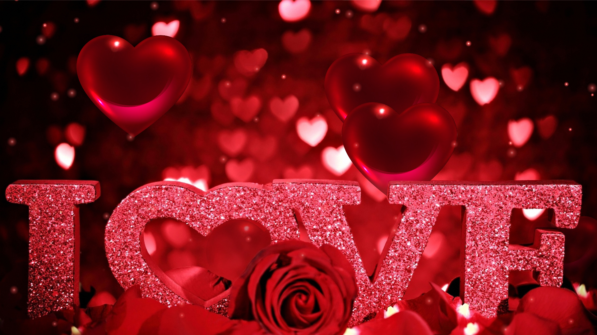 Love Wallpapers Screensavers : Download Hearts Screensaver - Romantic Hearts Screensaver ...