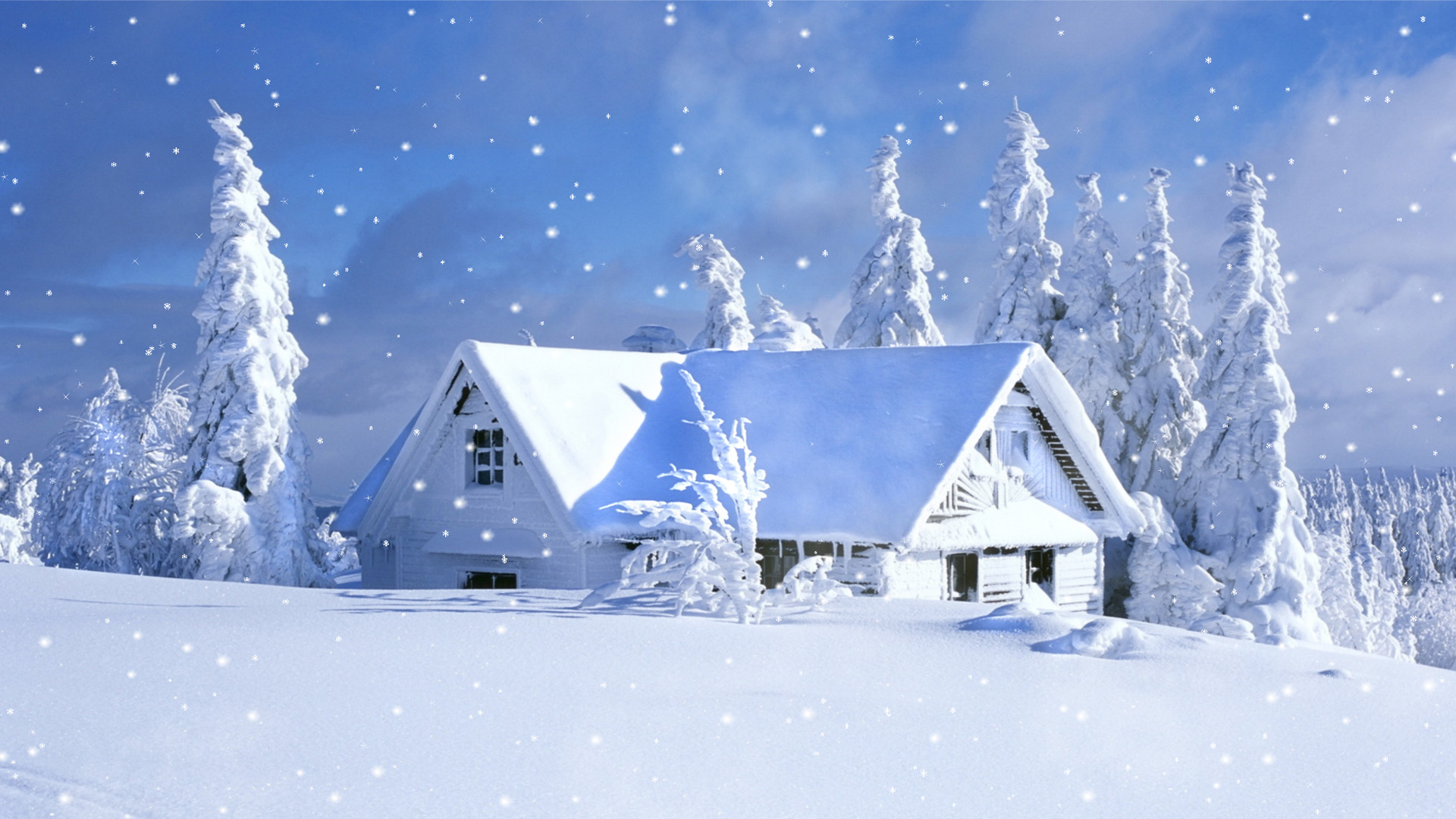 Snowfall fantasy free snowfall screensaver - Free screensavers snowflakes falling ...