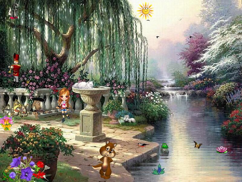 spring dream free funny screensaver fullscreensavers com