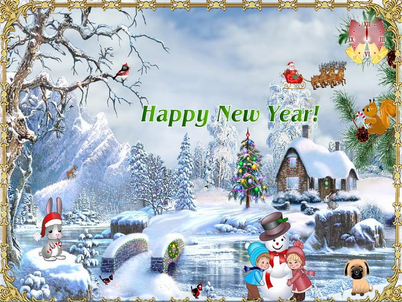 Christmas Suite - Weihnachts-Bildschirmschoner - FullScreensavers.com