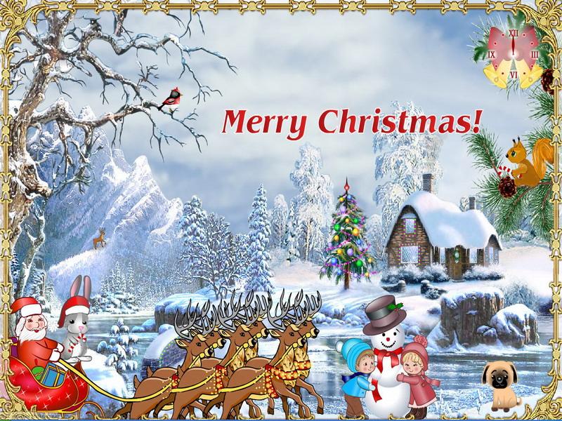 christmas screensaver christmas suite screenshot 3 - Animated Christmas Screensavers