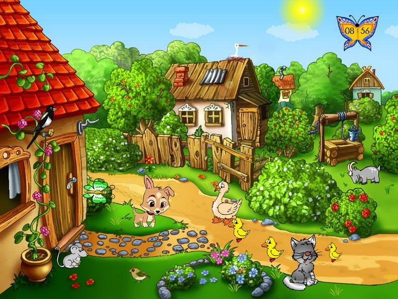 Summer farm free summer screensaver for Screensaver hd gratis