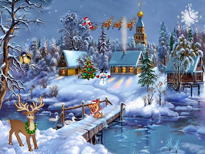 Christmas Symphony - Free Christmas Screensaver