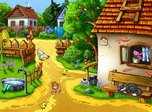Dorf-Bildschirmschoner - Sunny Village - Screenshot #1