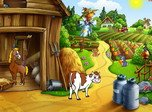 Sunny Village - Free Village Screensaver